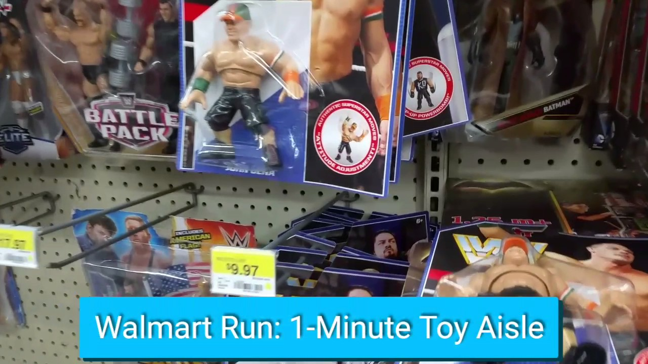Walmart Toy Aisle Boys : Walmart run minute toy aisle youtube