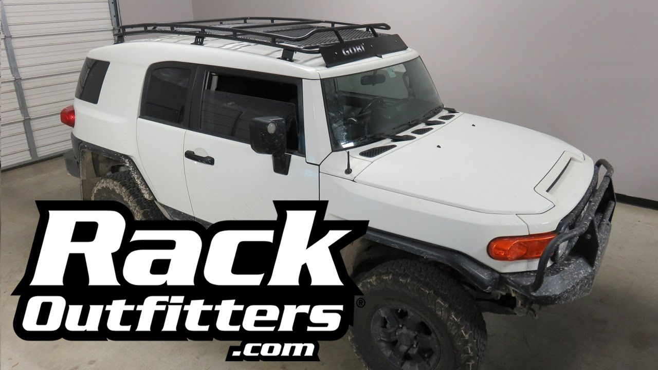 2007 to 2014 Toyota FJ Cruiser with GOBI Stealth Low