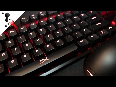 HyperX Alloy FPS Keyboard Review (with Cherry MX Red sound test)