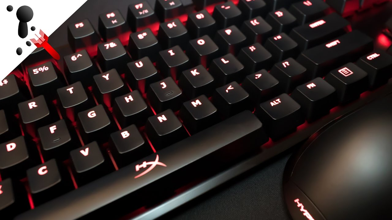 f48fc139a23 HyperX Alloy FPS Keyboard Review (with Cherry MX Red sound test ...