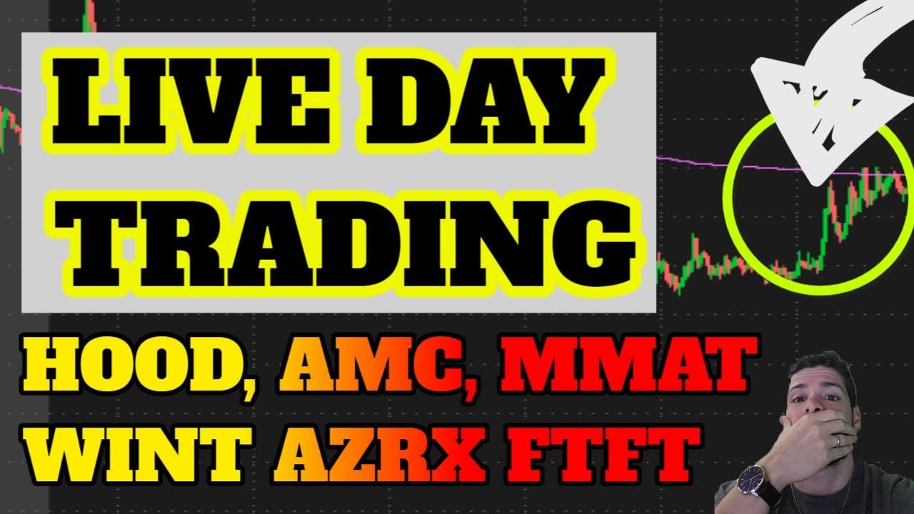 🔴LIVE DAY TRADING - Quad Witching! AMC? SDC, IRNT, INDP Pop! CRVS? BTC & ETH Rip! MMAT! Penny Stocks