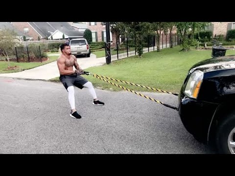 Falcons Rookie Duke Riley Pulls a F***ing SUV as His Workout