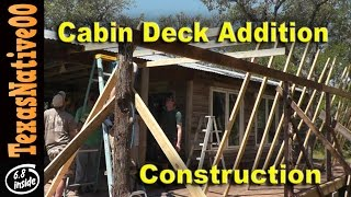 Cabin Deck Addition - The Construction Process
