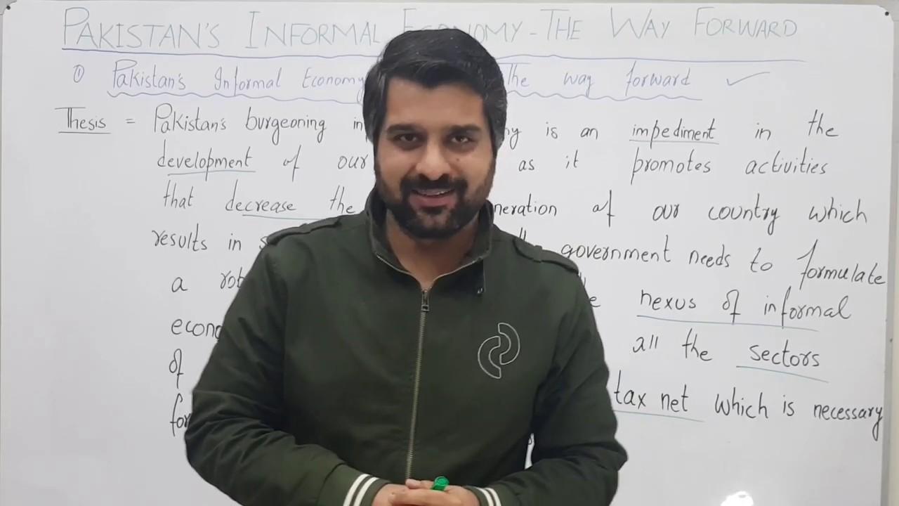 Economy of pakistan essay