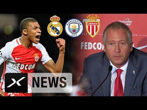Real Madrid? Manchester City? Wohin geht Kylian Mbappe? Monaco-Vize gibt Antworten | AS Monaco