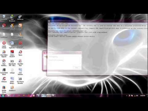 Unlock BitLocker Drive From Command Prompt Without Recovery Key Here this video will show you how to.