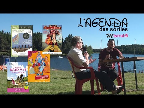 Agenda Cet été en Ardèche !