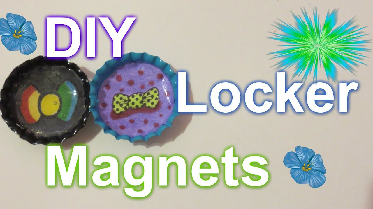 Diy locker magnets youtube - What you can do with magnets ...