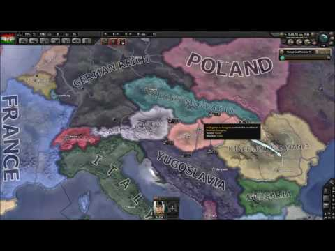 Hoi4 Guide: Hungary startup