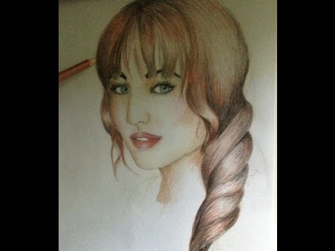 Quick tips! How to draw realistic hair: braids