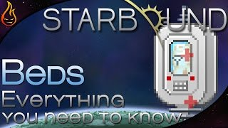 Starbound - Beds, Everything you need to know