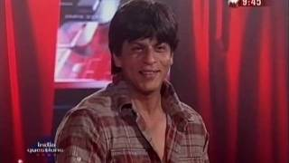 Shahrukh Khan on India Questions talks about being diplomatic 2006 -  part 2