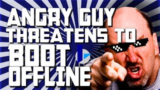 Angry Guy Threatens To Boot Me Offline! - MW3