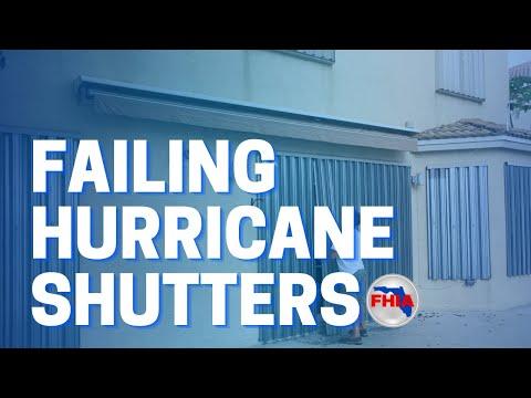 FHIA - Failing Hurricane Shutters