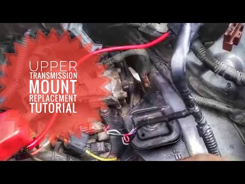 HOW TO REPLACE TRANSMISSION MOUNT