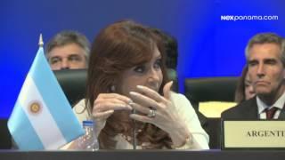Discurso de la Pdta. de Argentina Cristina Fernández de Kirchner #CumbrePTY