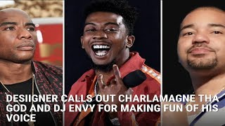 Here's Why Desiigner Wants To Put Hands On Charlamagne & Dj Envy (M.Reck Live Reloaded On Born Day)