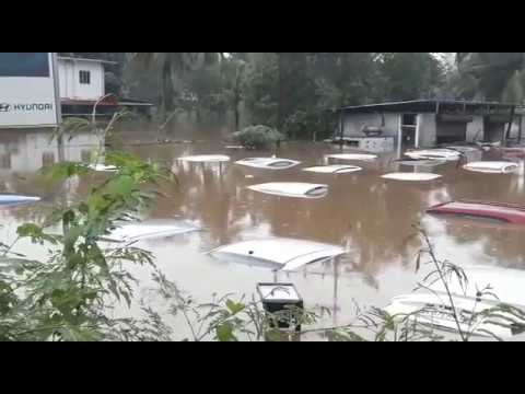 Sinking Hyundai Showroom|Brand New Cars Under Water|News Alert@BMC|Pray for Kerala