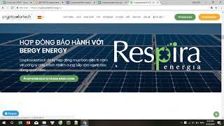 Cryptosolartech ICO REVIEW - Sử dụng Blockchain với năng lượng mặt trời