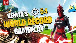 NEW FORTNITE SQUADS WORLD RECORD (KENITH FULL GAMEPLAY)
