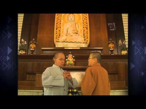 Goulart de Andrade visita o Templo budista Zu Lai