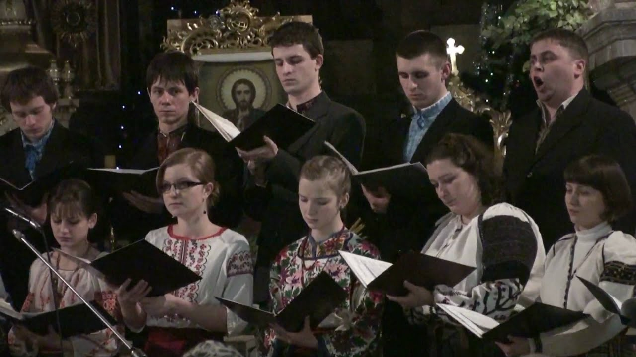Ukrainian Christmas Carol. - YouTube