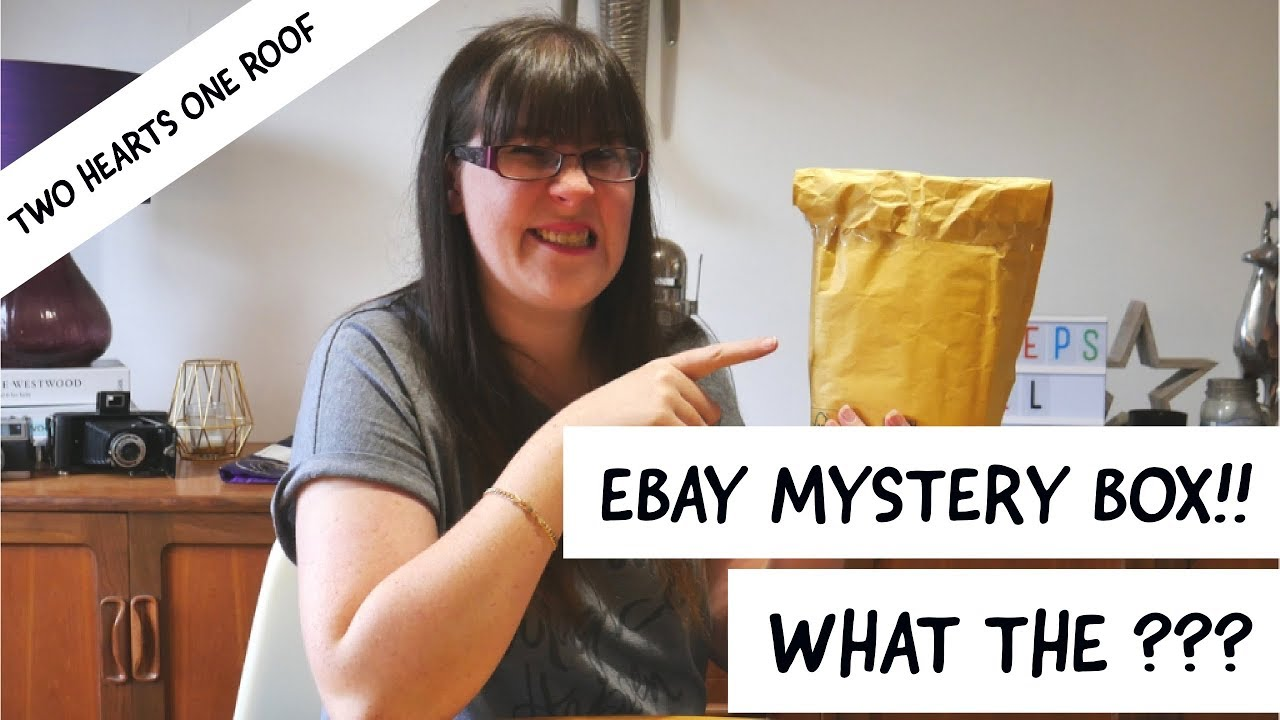 Ebay Mystery Box Unboxing Uk Ebay 10 Mystery Surprise Box Youtube