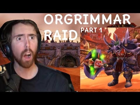 ASMONGOLD FACES SAURFANG ON THE STARTING ASSAULT ON ORGRIMMAR (PART 1 )