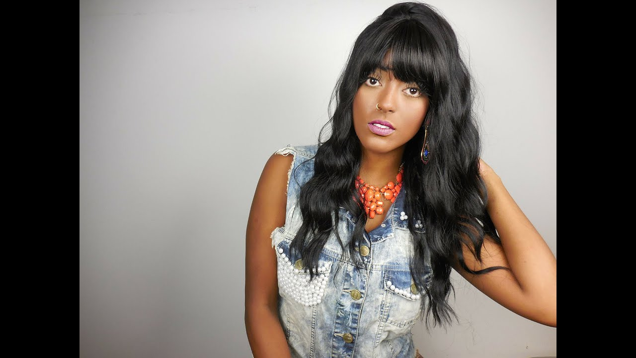Model Model Equal Brazilia Wig - Iza Marques - YouTube