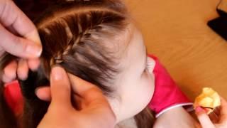 видео Детские прически на каждый день для девочек
