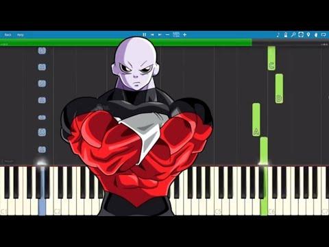 Jiren Theme Song - EASY Piano Tutorial - Dragonball Super