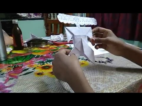 Making Ravana with papers in an easy way