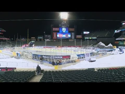 NHL Stadium Series at Coors Field: Enjoy the sun while watching ice hockey in Denver