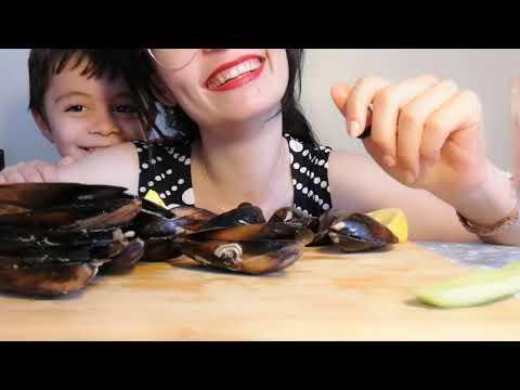ASMR Midye Dolma ! Mussels ASMR | Türkçe ASMR | Turkish ASMR