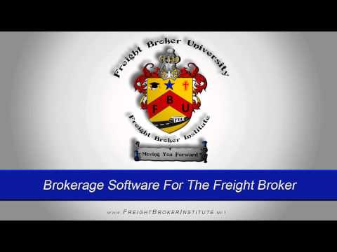 Learn About Brokerage Software For The Freight Broker and Freight Broker Bond