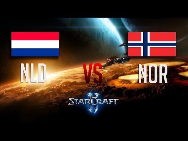 Starcraft 2: NATION WARS 2018| NLD vs NOR