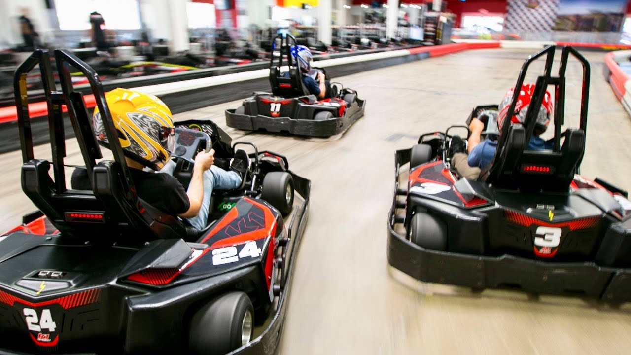 K1 Speed Is Toronto S Newest Indoor Go Karting Track Youtube