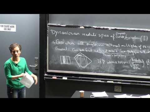 Maryam Mirzakhani, Dynamics Moduli Spaces of Curves I