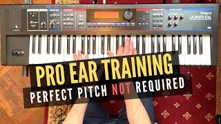 Relative Pitch Ear Training - Secrets to Hearing Like a Pro