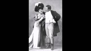 Puccini - Tosca - Act III duet - Ester Mazzoleni, Giovanni Zenatello (1911)