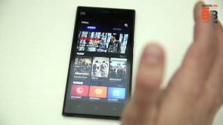 Xiaomi 3 (Mi3 Tegra 4) видеообзор