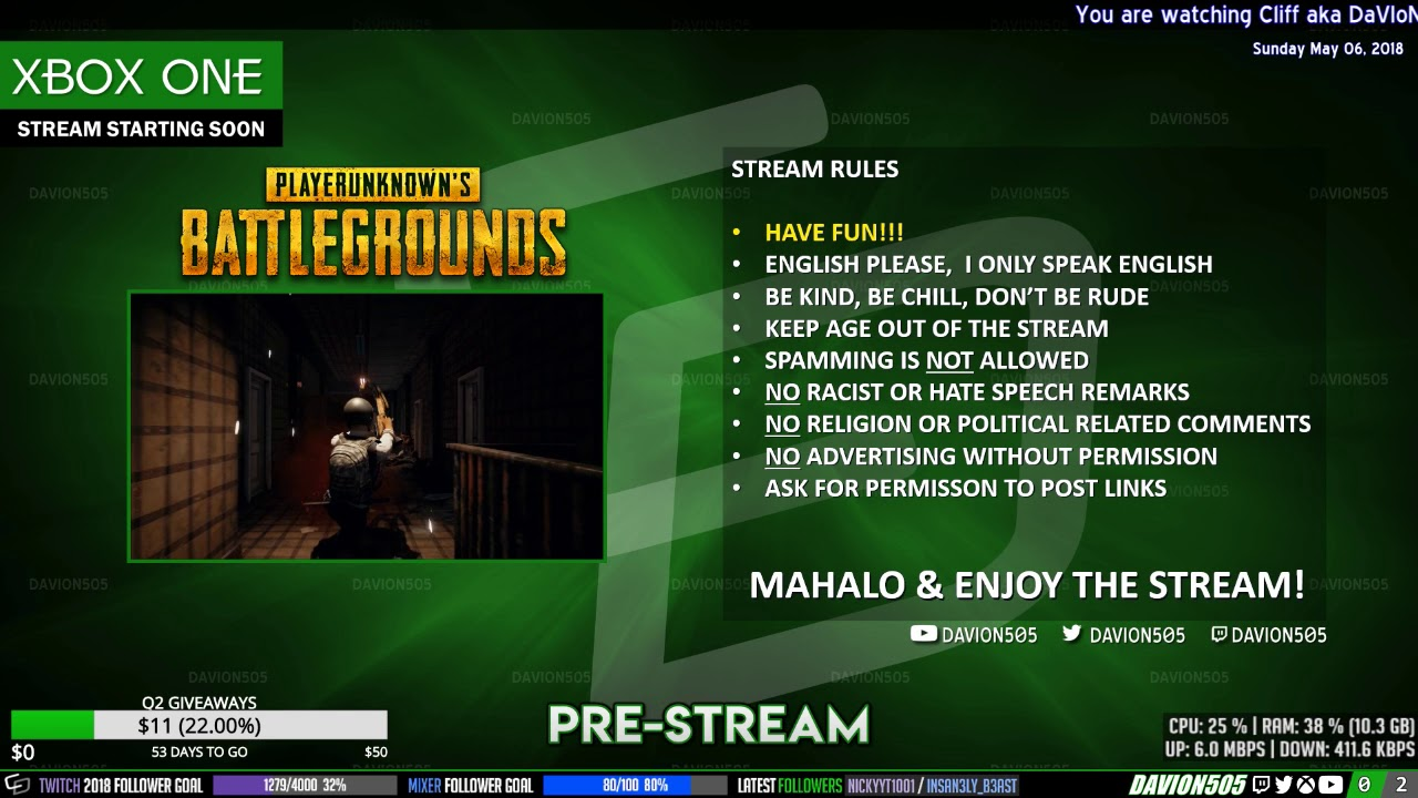 Are giveaways allowed on twitch stream