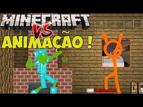 ANIMAÇÃO VS. MINECRAFT