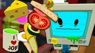 CURSED FOODS Help Tempbot Quit Coffee - Job Simulator (VR)