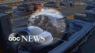 Manhunt for suspects in armored car robbery | ABC News