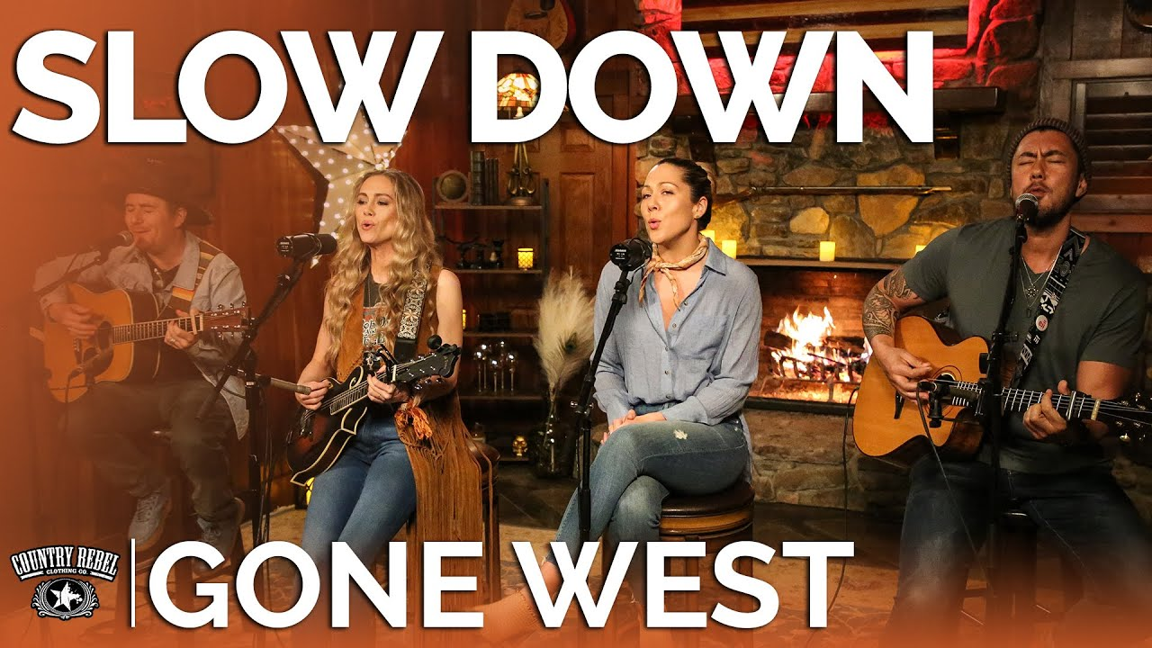 Gone West — Slow Down (Acoustic) // Fireside Sessions