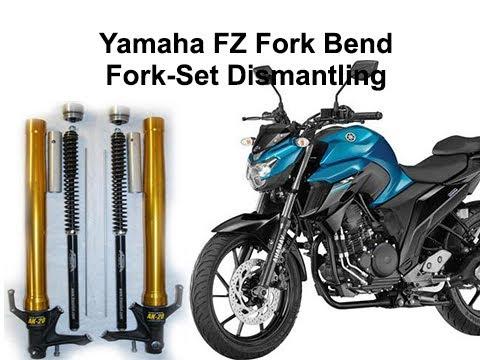 Fork Problem  Yamaha FZ  Fork Bend I Fork-Set Dismantling I MMI