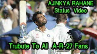 AJINKYA RAHANE Whatsapp Status Ajinkya Rahane India Ajinkya Rahane Fans Indian Cricket Status