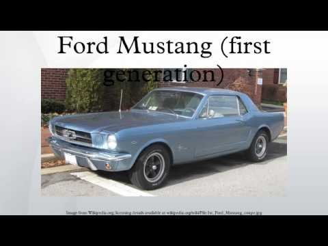 Ford Mustang (first generation)