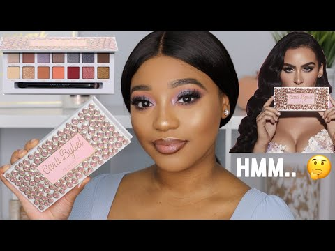 Carli Bybel X Anastasia Beverly Hills Palette Review + Swatches   Lipsticklayna thumbnail